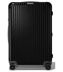 rimowa essential check-in large 31-inch wheeled suitcase - black