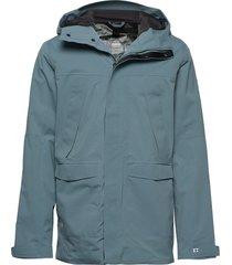hiker next generation men's drymaxx shell jacket outerwear sport jackets blå halti
