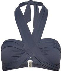 seafolly bandeau bikinitop blå seafolly