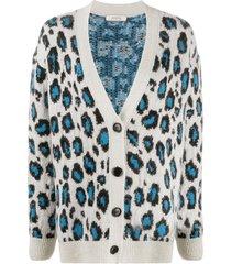dorothee schumacher wild softness leopard-print cardigan - neutrals
