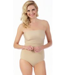 instantfigure compression bandeau bodysuit, online only