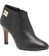 vince camuto women's landria buckle dress booties women's shoes