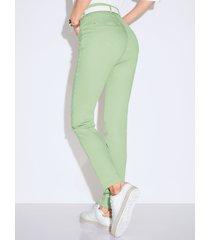 corrigerende comfort plus-jeans model caren van raphaela by brax groen