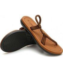 sandalias de verano casual para hombre-khaki