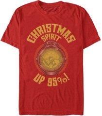 men's christmas chronicles 2 christmas watch short sleeve t-shirt