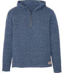 maglione con cappuccio (blu) - john baner jeanswear