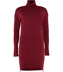 michael michael kors knitted turtleneck dress