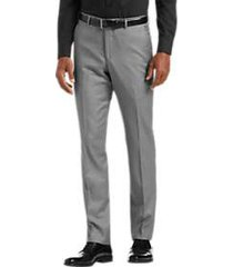 joe joseph abboud light gray extreme slim fit suit separate pant