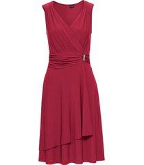 abito con applicazione gioiello (rosso) - bodyflirt