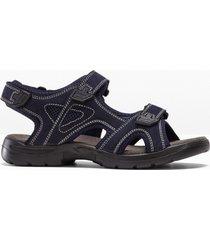 sandali in pelle (blu) - bpc bonprix collection
