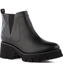women's bc footwear fight for your right vegan leather bootie, size 7.5 m - black