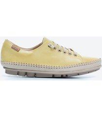 zapato casual mujer pikolinos tdh1 amarillo