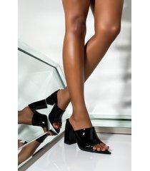 akira cape robbin liquid love peep toe chunky sandal