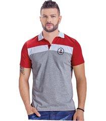 camiseta adulto masculino rojo marketing  personal
