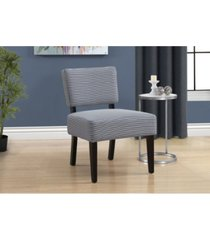 monarch specialties accent chair - abstract dot fabric