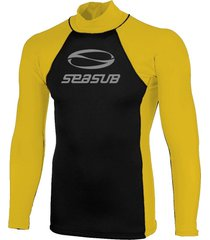 camiseta jersey neoprene 1,5mm ml - seasub