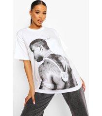 oversized gelicenseerd gucci mane t-shirt, ecru