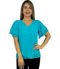 camiseta estampada para mujer - chalis