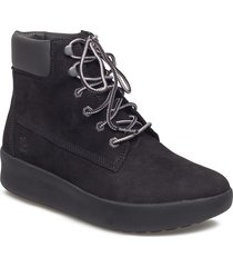 berlin park 6 inch shoes boots ankle boots ankle boots flat heel svart timberland