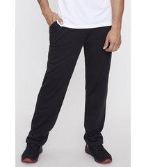 pantalón de buzo recto negro - hombre corona