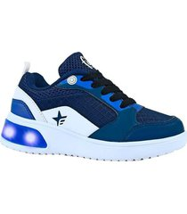 zapatilla azul footy urban