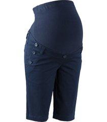 shorts prémaman con bottoni (blu) - bpc bonprix collection