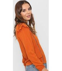 blusa naranja nano argentina