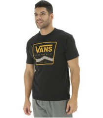 camiseta vans graphic off the wall - masculina - preto