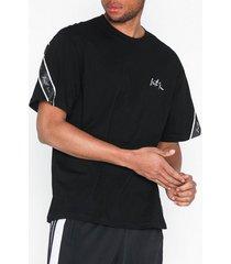 sixth june signature t-shirt t-shirts & linnen svart