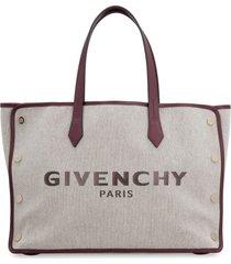 givenchy bond canvas tote bag