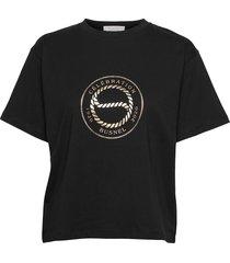 century t-shirt t-shirts & tops short-sleeved zwart busnel
