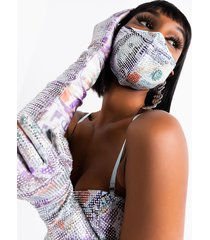 akira cash rules rhinestone fashion gloves