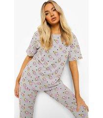 disney daisy duck pyjama set, grey