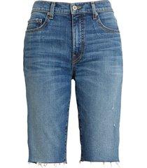women's nili lotan sydney women's bermuda shorts, size 26 - blue