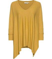 fosna stickad tröja gul masai