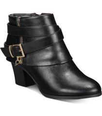 thalia sodi tully ankle booties, created for macy's women's shoes