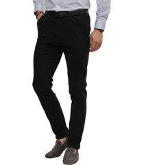 pantalon chino negro guy laroche