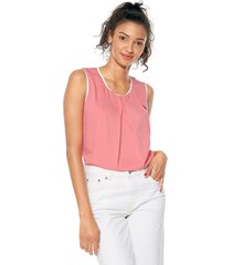 blusa coral-blanco us polo assn