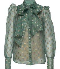 zofja by nbs blouse lange mouwen groen custommade