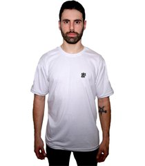 camiseta manga curta skate eterno elite branca - kanui