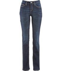 jeans elasticizzato straight (nero) - john baner jeanswear