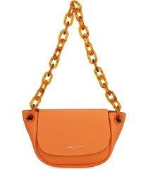 simon miller bend leather shoulder bag