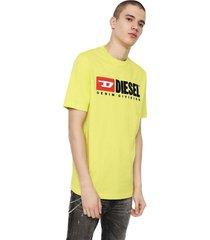 polera t just division t shirt amarillo diesel