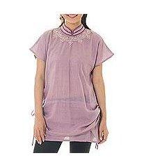 cotton tunic, 'sensational siam' (thailand)