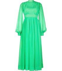 a.n.g.e.l.o. vintage cult 1970s maxi dress - green