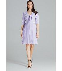 sukienka l076 fiolet