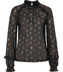 maglia in fantasia lucida (nero) - bodyflirt