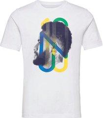 neymar jr hero tee t-shirts short-sleeved vit puma
