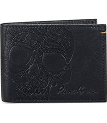 apex leather bi-fold wallet