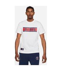 camisa jordan psg wordmark masculina
